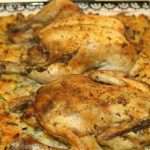 Southern Style Cornish Hens and Corn Bread Dressing